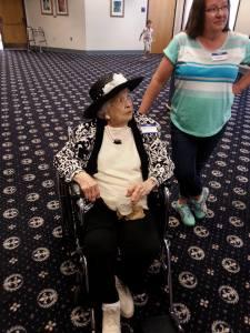 My Great-Grandma, Hattie, turns 90.
