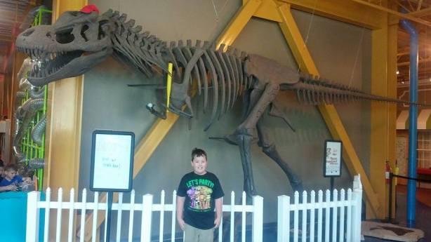 Ethan and the Dinosaur