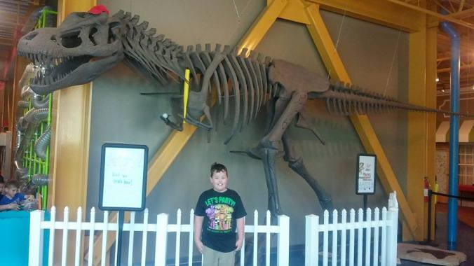 Ethan and the Dinosaur